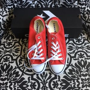 NWB Red Converse All Stars Sneakers SZ 8
